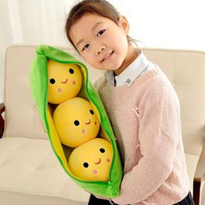 Green Peas Pillow
