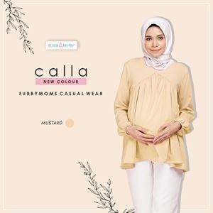 Calla Blouse -  Mustard