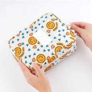 Cosmetic Bag SMILEY YELLOW