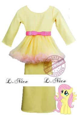 Tutu Kurung - Yellow