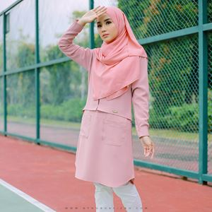 Ezy blouse (pink)