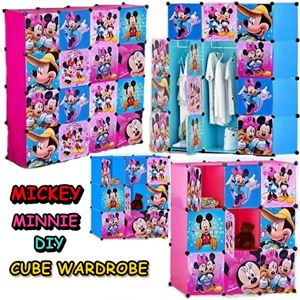MICKEY MINNIE DIY CUBE WARDROBE ETA 29/7/2018