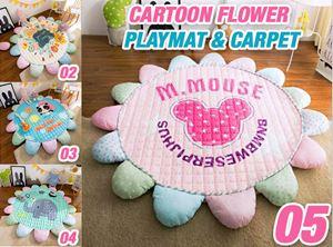 Cartoon Flower Playmat & Carpet