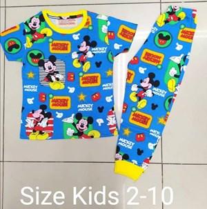 Pyjamas MICKEY INVISIBLE BLUE : KIDS size 2 - 10
