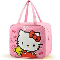 LUNCHBOX  BAG ( KITTY LIGHT PINK )