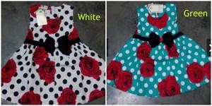 Polka Dot Dress With Bow