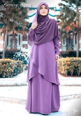 KURUNG HAJRA (Soft Lavender)