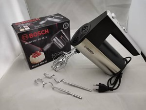 Bosch Hand mixer 450W- turbo compact and lightweight-Silver