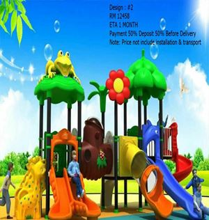 Outdoor Playground (Various Design) ETA 30 Hari