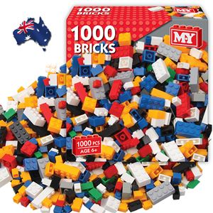 Australia 1000 Piece Building Block Set  PRE ORDER 2 weeks