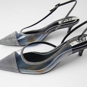Mid-heel Transparent Light Plastic High Heels