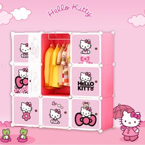 Hello Kitty 9 Cube Wardrobe (KT9)