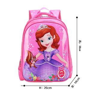 PREORDER Nursery-Kindy School Bags ( SOFIA PINK ) ETA  MID NIOV