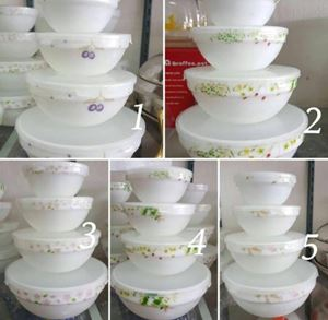 4PCS STACKABLE BOWL SET