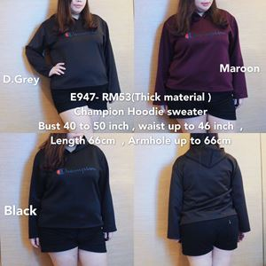 E947 *Ready Stock* Bust 40 to 50inch/102-127cm *