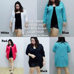 3908 Ready Stock *Bust 44 to 60 inch