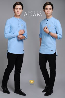 KURTA ADAM (ICE BLUE)