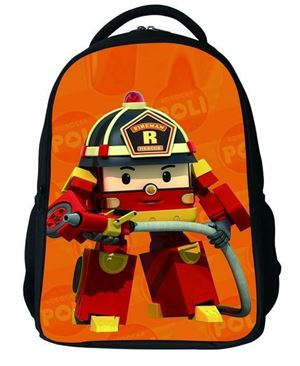 @  ROBOCAR POLI BACKPACK -ROI ( RED )