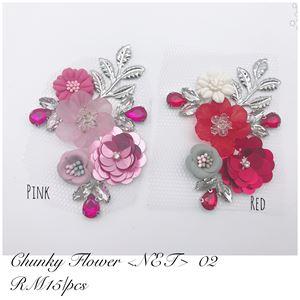 CHUNKY FLOWER NET 02