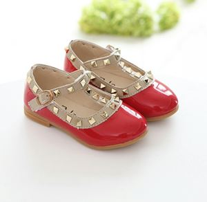 GORGEOUS GIRL SHOES-RED