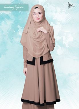 KURUNG  SYARI 06 (SEDUCTIVE BROWN)