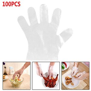 Plastic Gloves For Restaurant Kitchen BBQ Transparent Food-Grade One-off Gloves
