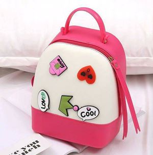 Jelly Backpack - Dark Pink Cream