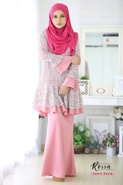 ROSSA LACE - SOFT PINK