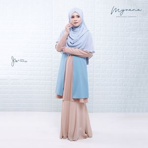 MYRANA ENTHUSIASTIC LIFESTYLE BLOUSE (SKY BLUE)