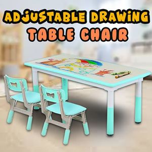 ADJUSTABLE DRAWING TABLE CHAIR