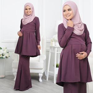 Alarra Kurung - Purple