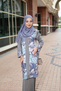 Baju Kebarung Jameela (KJ102) - Koleksi Raya 2019