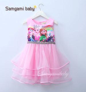 @  SAMGAMI DRESS  012. - FROZEN PINK TUTU.   ( SZ 100-140 )