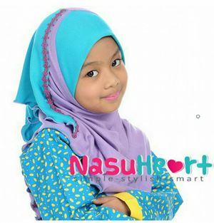 Instant Shawl Nasuheart SIZE L (Wafiyya 01)