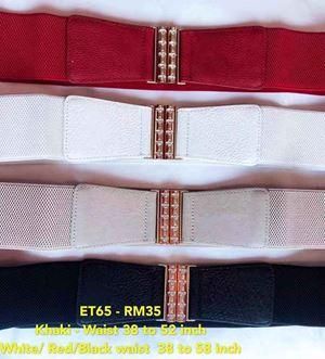 ET65 Ready Stock  *Waist 38 to 58 inch/ 97-147cm