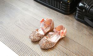 CLEARANCE SALE RIBBON BLING PINK COLOUR GIRL SHOES