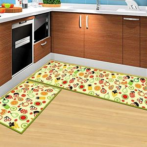 PREORDER KITCHEN MATS ( COLOURFUL FRUITS )