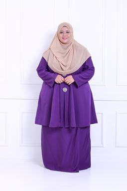 Kebaya Khadeejah - Purple