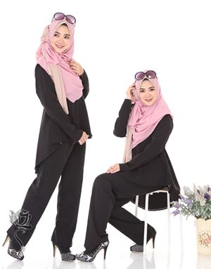SHILA SUIT -  BLACK
