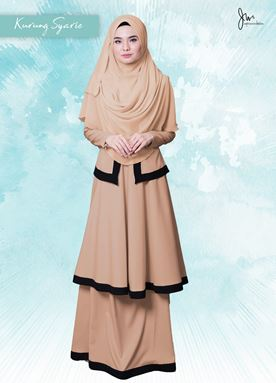 KURUNG  SYARI 06 (SANDY YELLOW)
