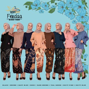 FREEDA WITH BATIK PARIO