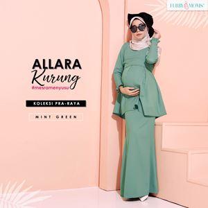 Alarra Kurung - Mint Green (Pre Order)