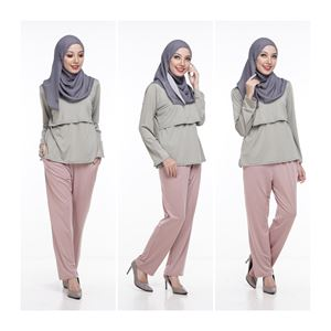 Casual Pant - KHAKI - (Maternity Friendly)