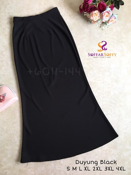 SKIRT DUYUNG BLACK