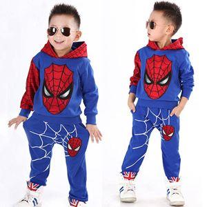 SPIDERMAN KIDS SET ( BLUE ) SIZE  100-140