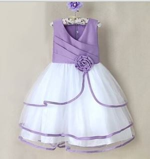 P30890 DINNER DRESS - PURPLE