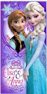 Frozen Towel - Anna & Elsa
