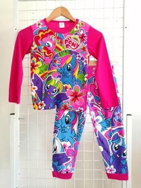 Pyjamas  Long Sleeve LITTLE PONY FLORA Pink