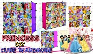 PRINCESS DIY CUBE WARDROBE