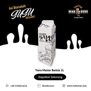 Yarra Master Barista 1L X 12 PKTS